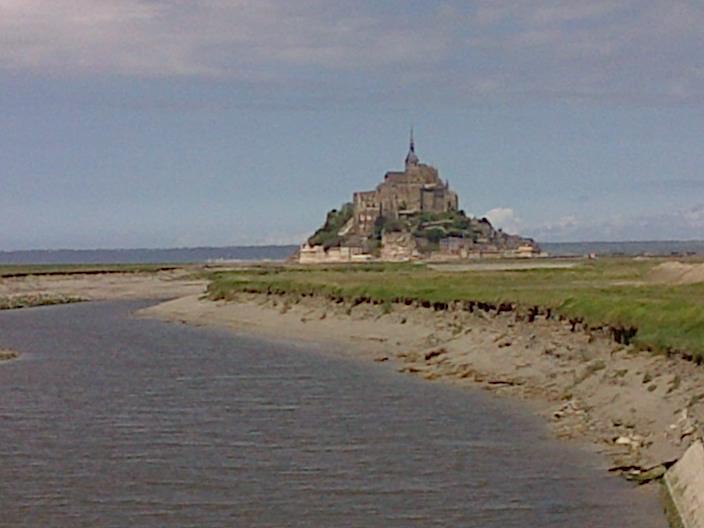 Le Mont Saint Michel et le Couesnon
