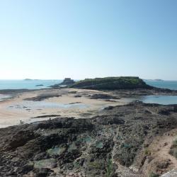 Le Grand Bé, Saint Malo, marée basse